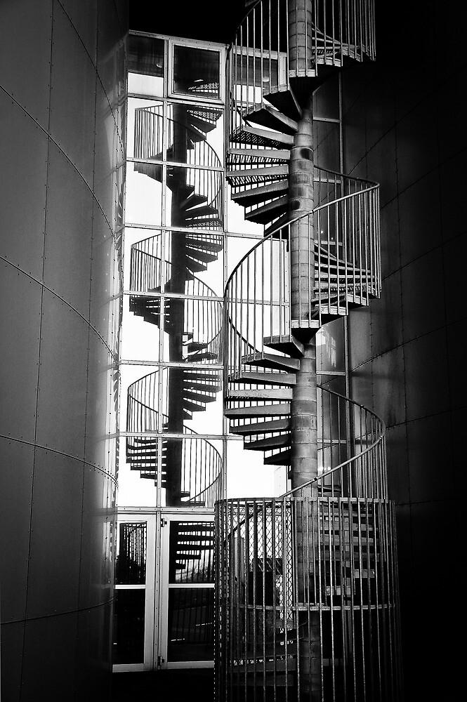 Pearl Stairs Reflection by Ólafur Már Sigurðsson