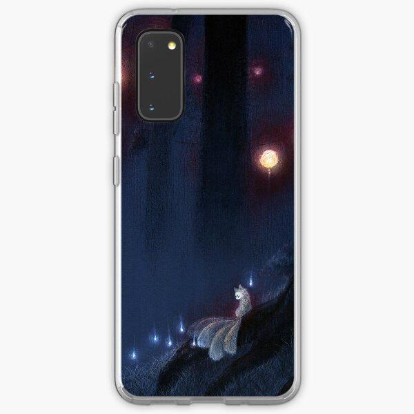 Forest Ghost - Kitsune Fox Yokai  Samsung Galaxy Soft Case