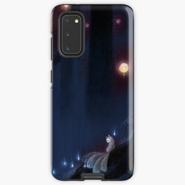 Forest Ghost - Kitsune Fox Yokai  Samsung Galaxy Tough Case