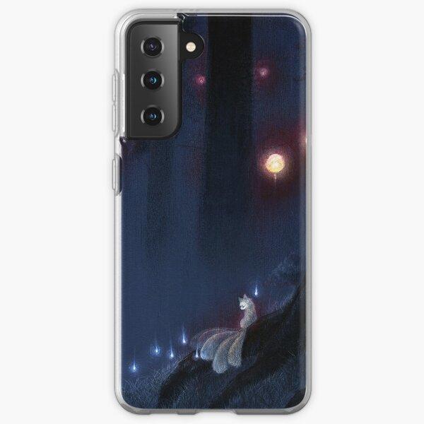 Forest Ghost - TeaKitsune Fox Yokai Samsung Galaxy Soft Case