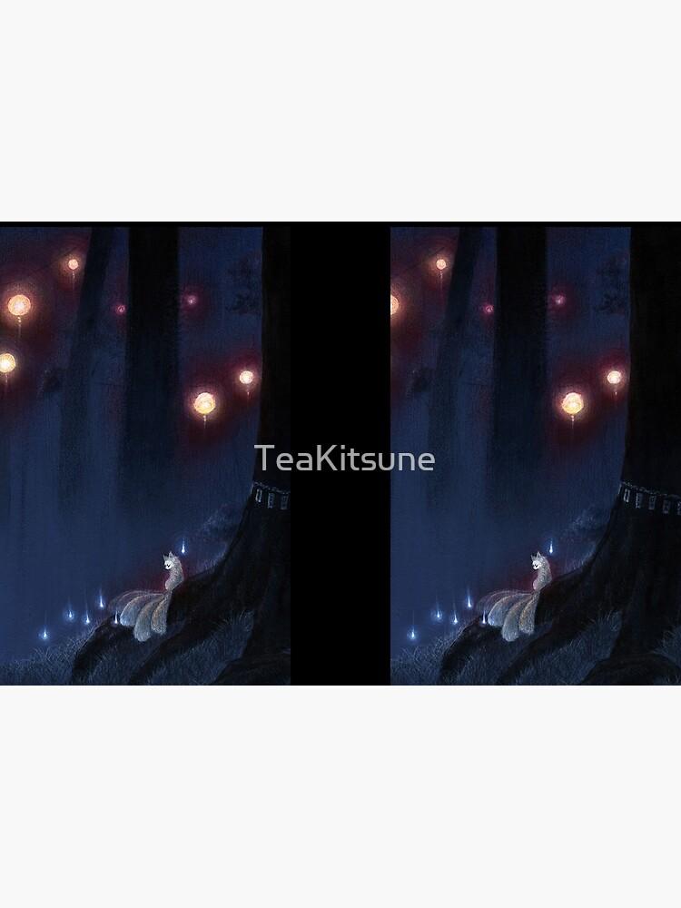 Forest Ghost - TeaKitsune Fox Yokai by TeaKitsune