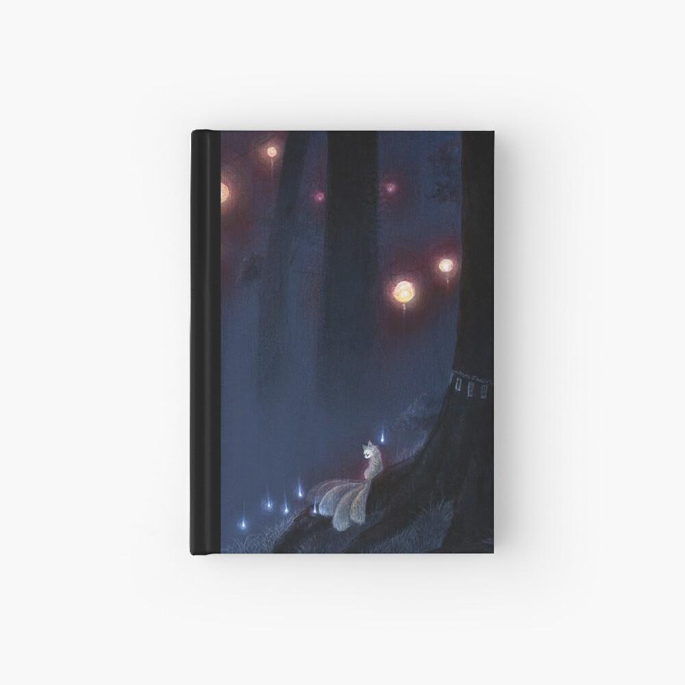 Forest Ghost - TeaKitsune Fox Yokai Hardcover Journal