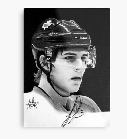Luke Schenn (Toronto Maple Leafs) Metal Print