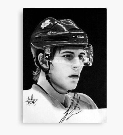 Luke Schenn (Toronto Maple Leafs) Canvas Print