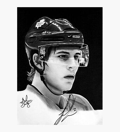 Luke Schenn (Toronto Maple Leafs) Photographic Print