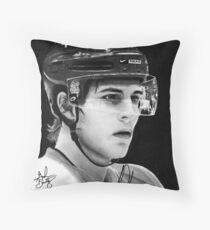 Luke Schenn (Toronto Maple Leafs) Throw Pillow
