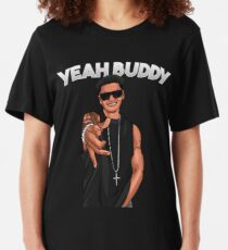 Yeah Buddy DJ Pauly D Jersey Shore Slim Fit T-Shirt
