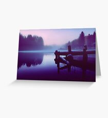 Reflections Of Winter. Greeting Card