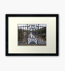 Ironbridge, Telford, Shropshire. Framed Print