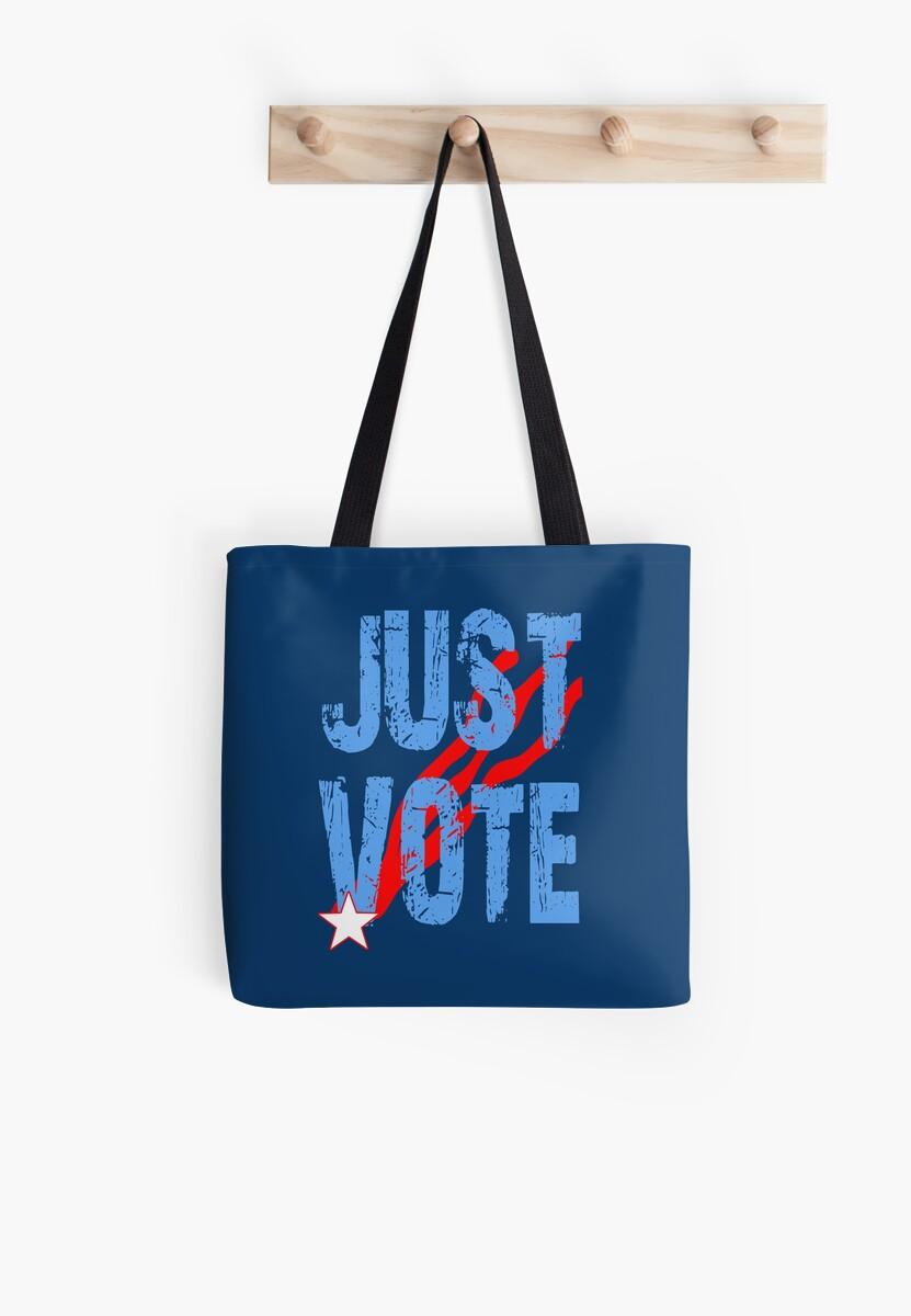 Just Vote Patriotic Voting Design by Greenbaby