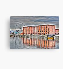 SALTHOUSE DOCK-HDR Canvas Print