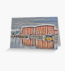 SALTHOUSE DOCK-HDR Greeting Card