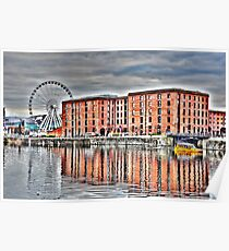 SALTHOUSE DOCK-HDR Poster