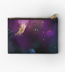 Space Jellies Zipper Pouch