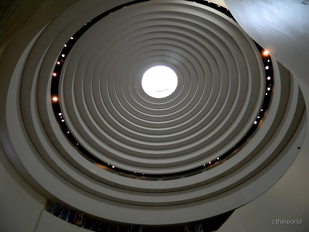Looking Up - Native American Indian Museum     ^ by ctheworld