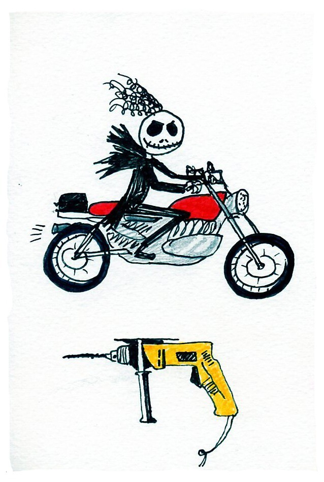 Jack and the drill  by Julie Barranger