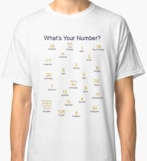 What's Your Number? Classic T-Shirt
