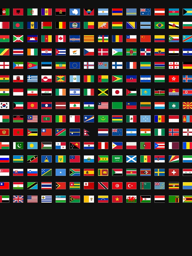 The Flags of the World by WorldFlagCo