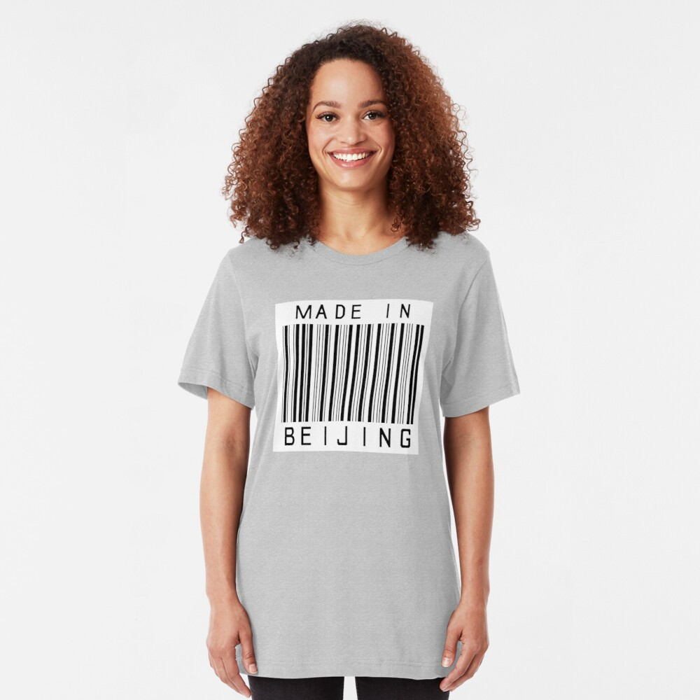 Made in Beijing Slim Fit T-Shirt