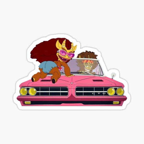 Maury and Connie - Big Mouth Sticker
