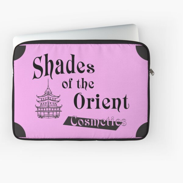 Shades of the Orient Cosmetics Laptop Sleeve