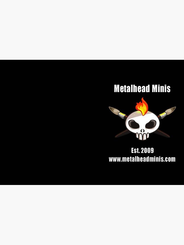 Metalhead Minis 10 Year Anniversary Logo by MetalheadMinis