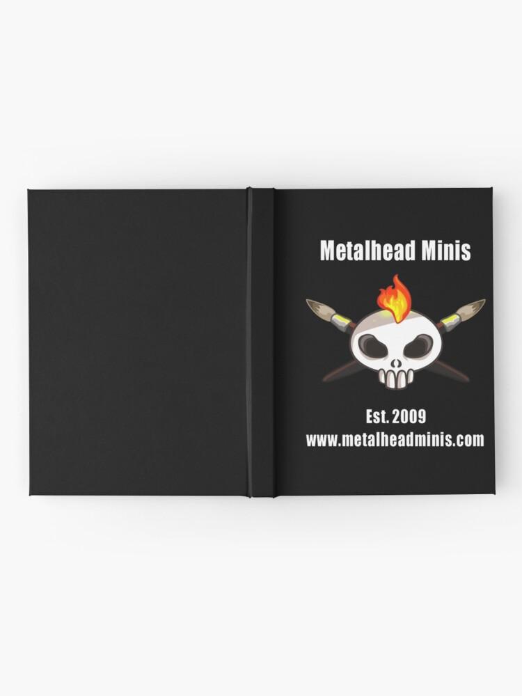 Alternate view of Metalhead Minis 10 Year Anniversary Logo Hardcover Journal