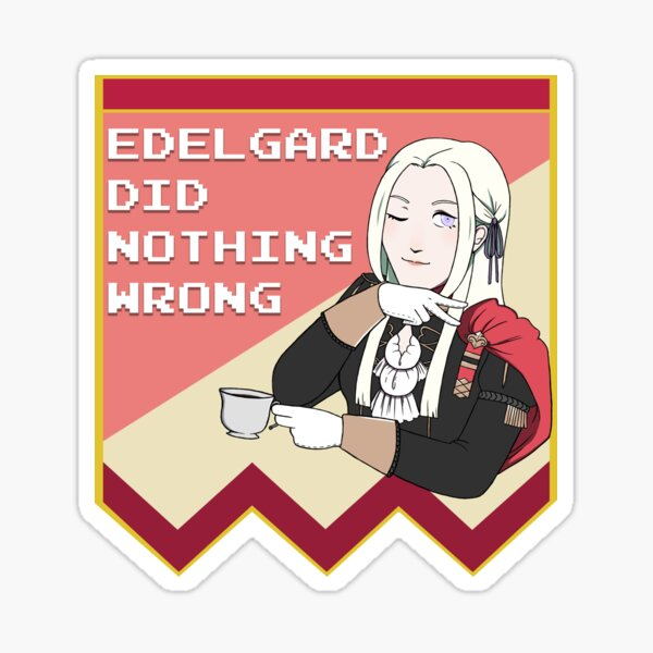 Edelgard Stan - Fire Emblem: Three Houses Sticker