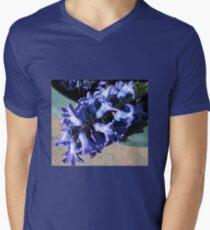 Fallen from Glory - Beautiful Blue Hyacinth Mens V-Neck T-Shirt