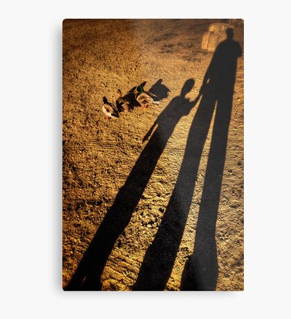 Side by Side by Side Metal Print