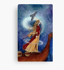 The Goddess Freyja - Shapeshifter Canvas Print