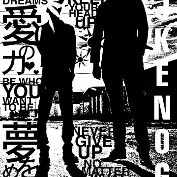 DJ KENOG & H_BALLZ silhouette (light colors) by dj-kenog
