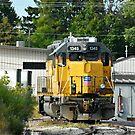 Union Pacific Locomotive by Scott Hayes