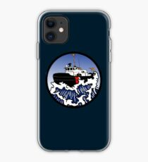 Wave Series - Harbor Tug iPhone Case