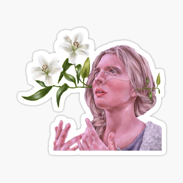 The OA & lilies Sticker