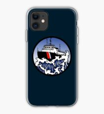 Wave Series - Great Lakes Icebreaker iPhone Case