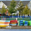 Colorful Boats by Scott Hayes