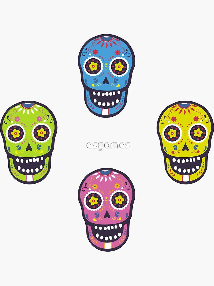 Lime Sugar Skull by esgomes