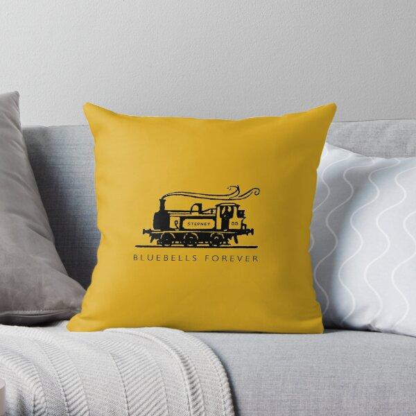 Bluebells Forever! Throw Pillow