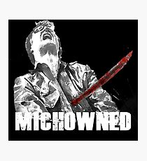Mich-OWNED! Photographic Print