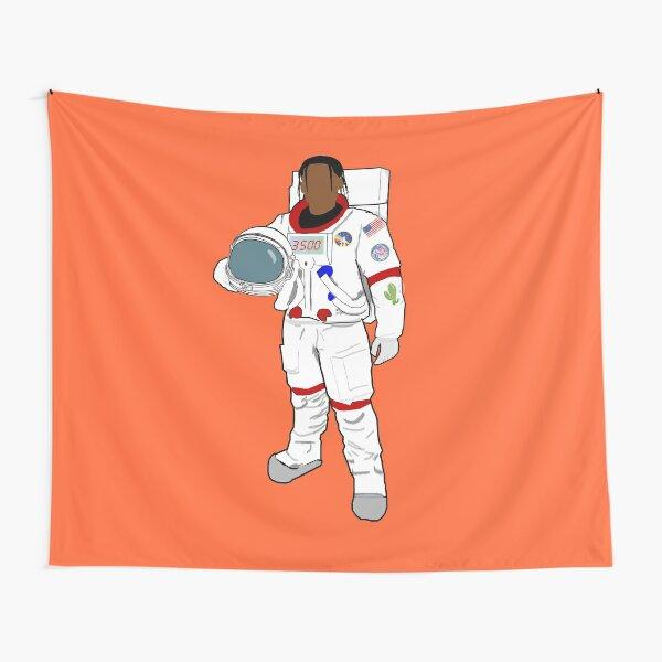 Astronaut Cactus Jack Scott Tapestry