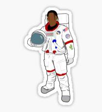 Astronaut Cactus Jack Scott Sticker