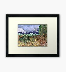 """Busy River""  Framed Print"