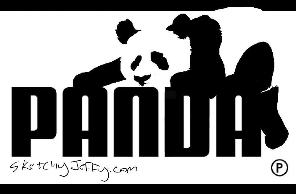 Panda Brand Sticker by sketchyjeffy