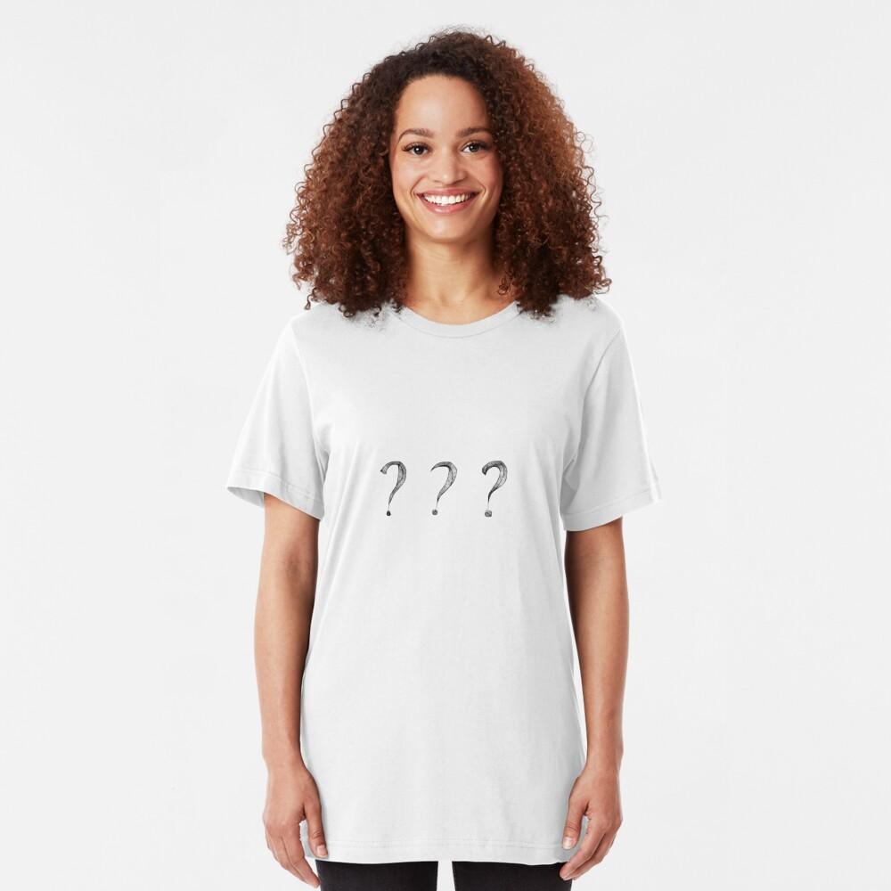 ? ? ? Slim Fit T-Shirt