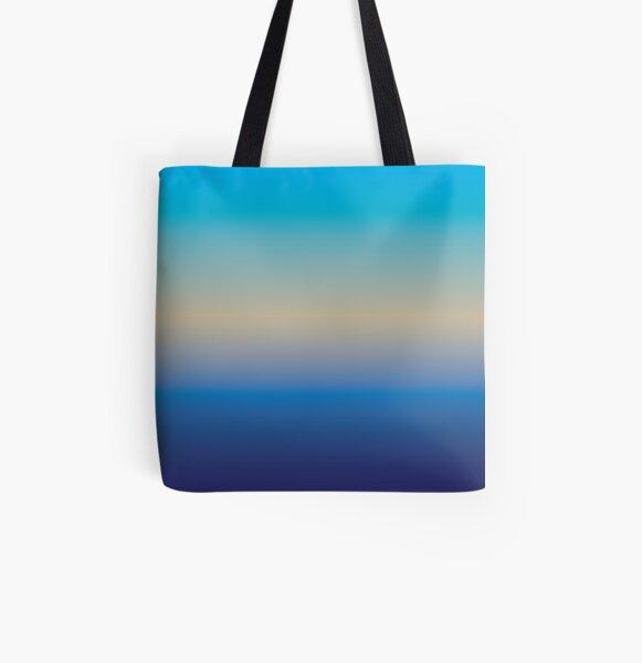 BEACHY All Over Print Tote Bag