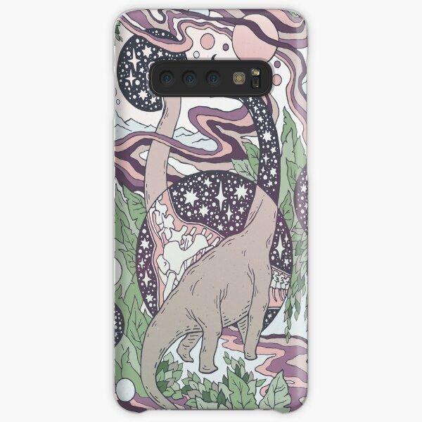 Jurassic Portal | Purple Haze Palette | Dinosaur Science Fiction Art Samsung Galaxy Snap Case