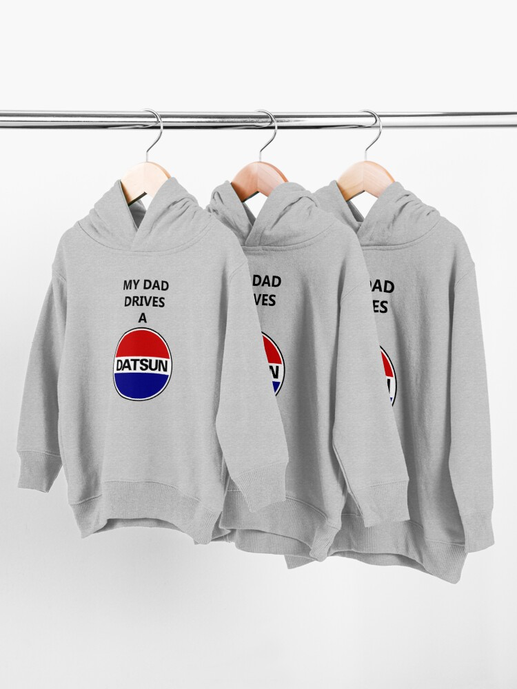 Alternate view of Datsun Dad Toddler Pullover Hoodie