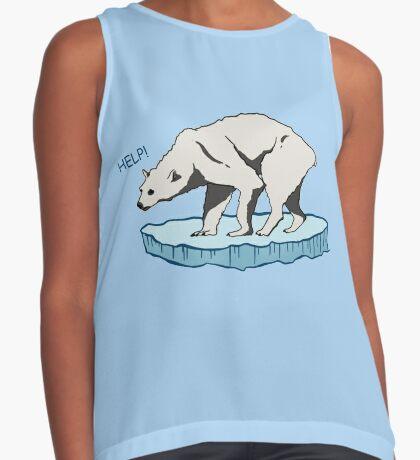 Polar Bear - Help! Sleeveless Top