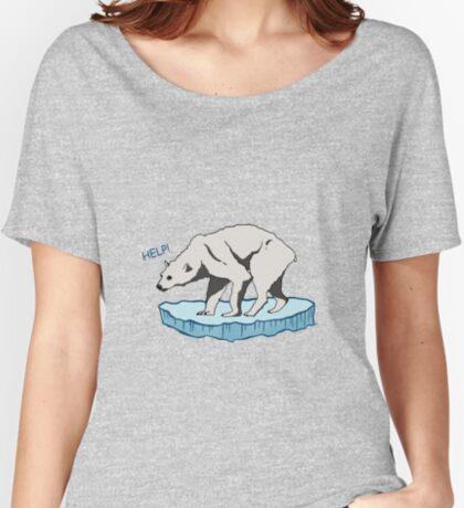 Polar Bear - Help! Relaxed Fit T-Shirt